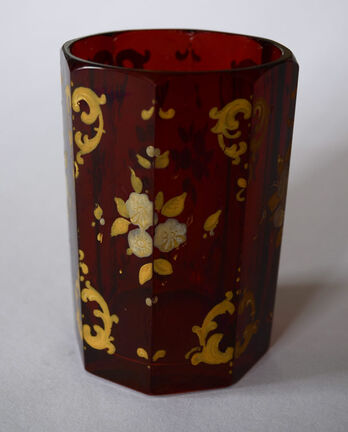 Biedermeier glass