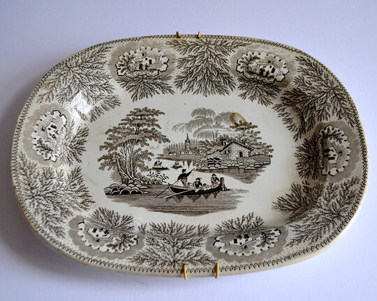 Plate: Royal Albion