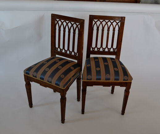 Two chairs: Lois XVI