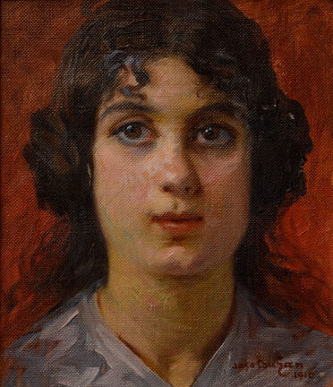 Joso Bužan: Portrait of a Girl